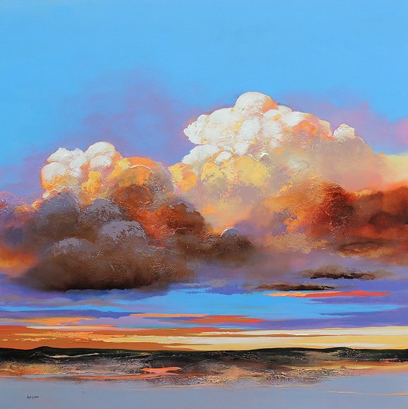 "Image of art work ""Whimsical Cumulus"""