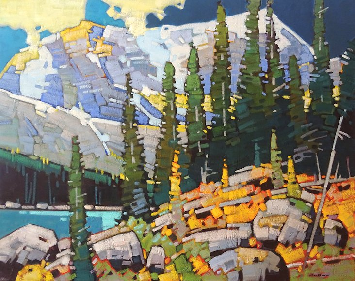 "Image of art work ""Autumn in the Canadian Rockies"""