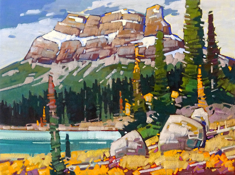 "Image of art work ""James Hectors Mountain"""