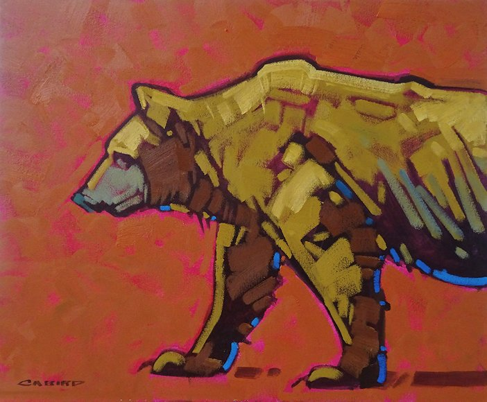 "Image of art work ""Capturing the Essence - Grizzly"""