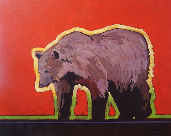 "Image of art work ""Border Patrol - Grizzly"""