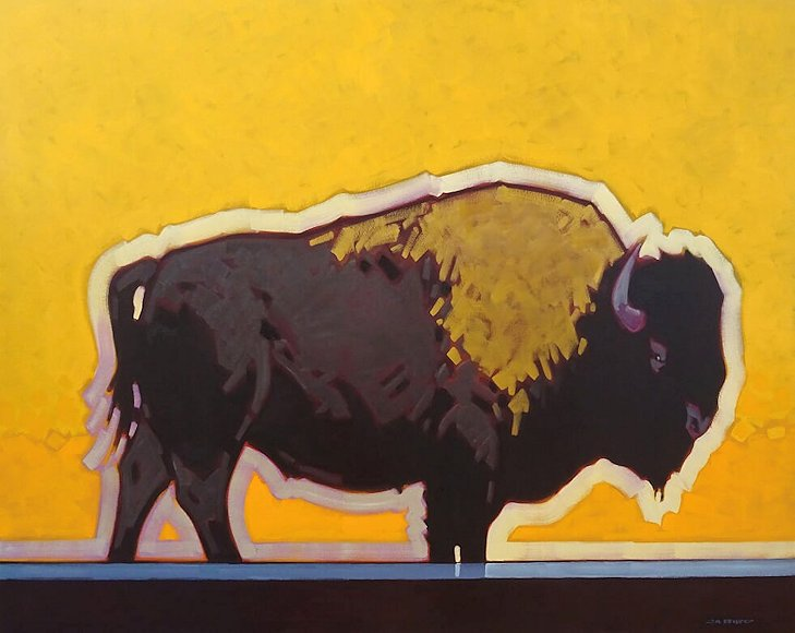 "Image of art work ""Tatonka (Buffalo)"""