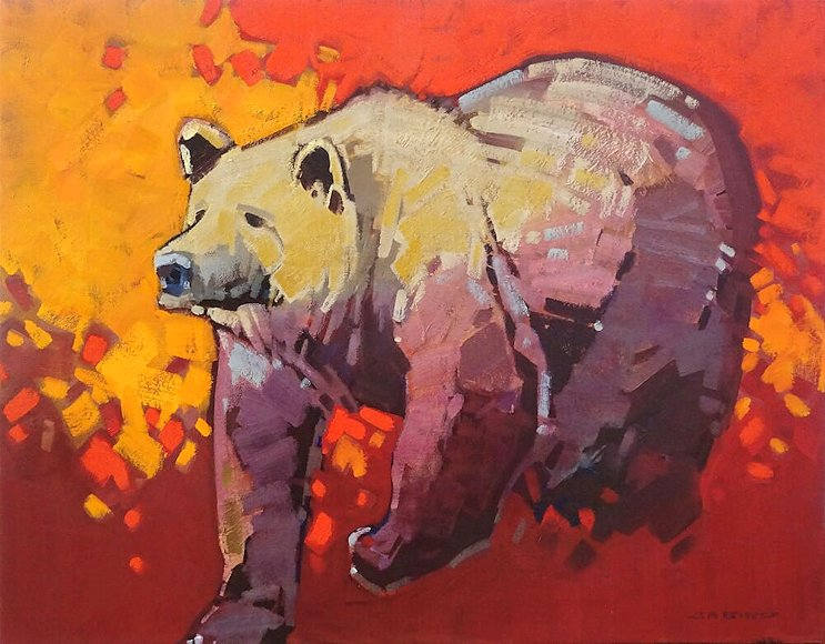"Image of art work ""Grizzly Attitude"""