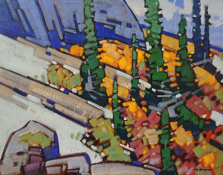 "Image of art work ""Bow Valley Glow"""