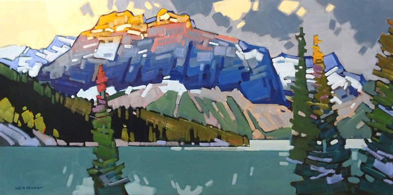 "Image of art work ""Emerald Lake Calm"""