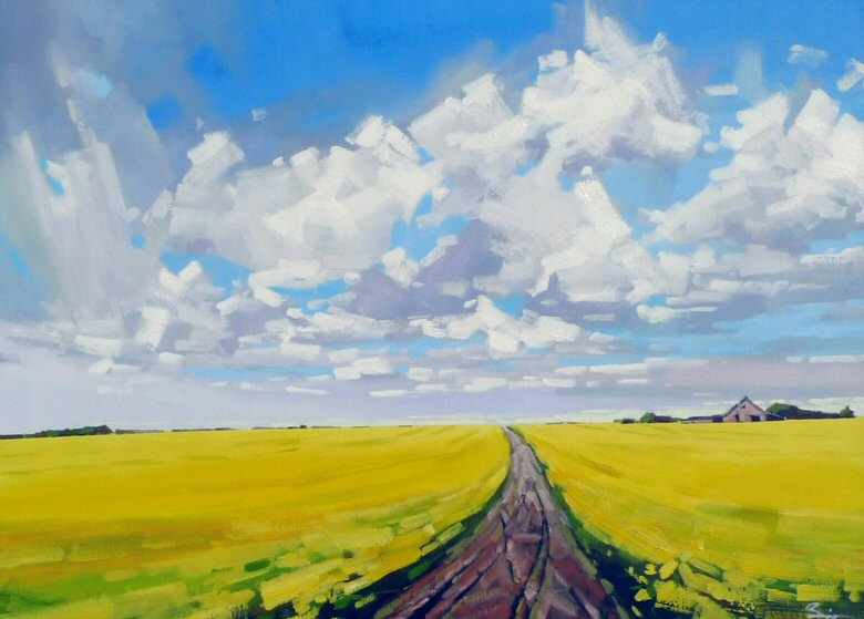 "Image of art work ""Canola Field"""