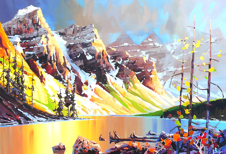 "Image of art work ""Moraine Lake Morning"""