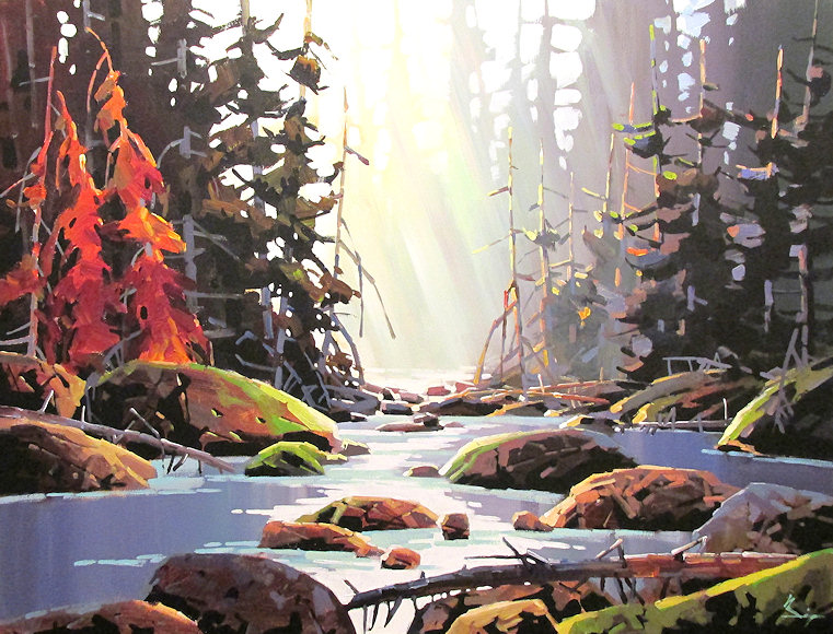 "Image of art work ""Autumn on the River"""