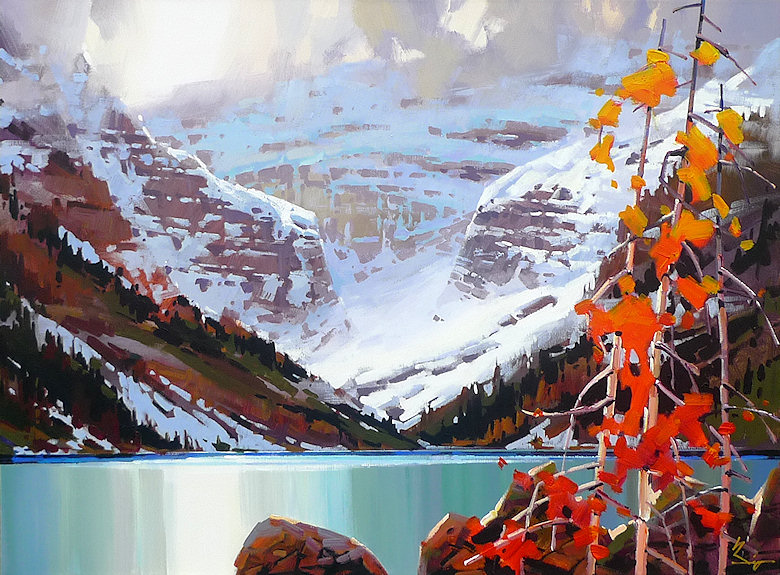 "Image of art work ""Full Nature Lake Louise"""