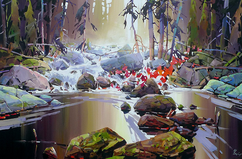"Image of art work ""River Run"""