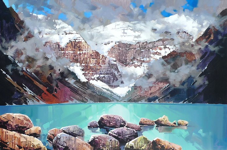"Image of art work ""Lake Louise in May"""