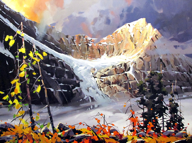 "Image of art work ""Mount Edith Cavell"""