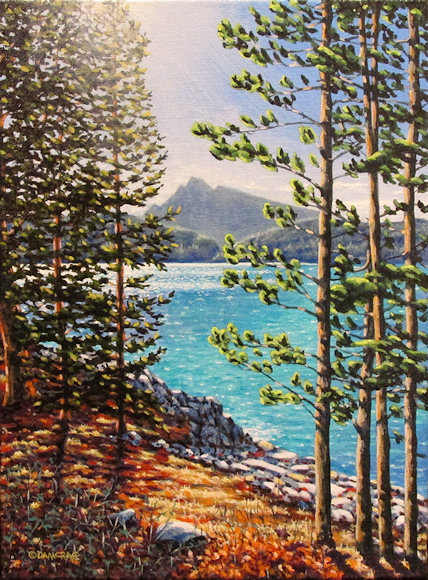 "Image of art work ""A Distant Rundle"""