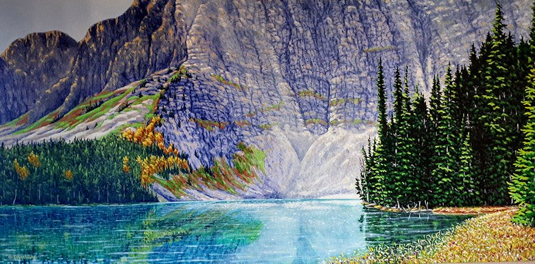 "Image of art work ""Radiance in the Rockies"""