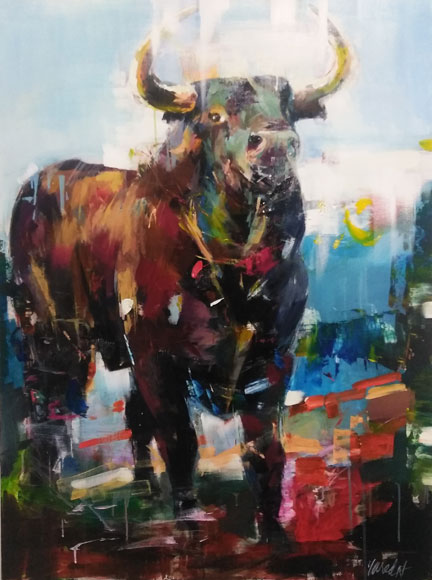 "Image of art work ""El Toro"""