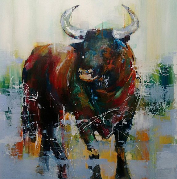"Image of art work ""El Toro II"""