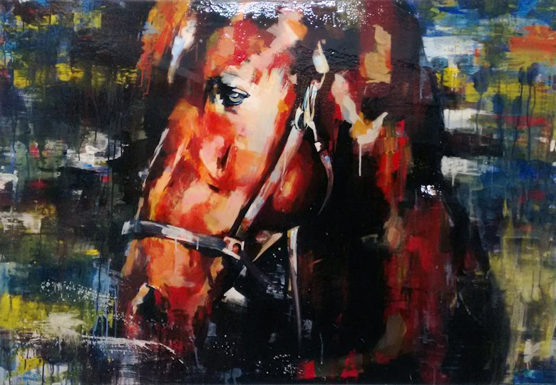 "Image of art work ""Head of the Horse"""