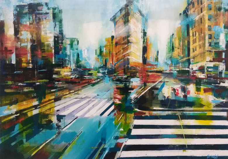 "Image of art work ""New York"""