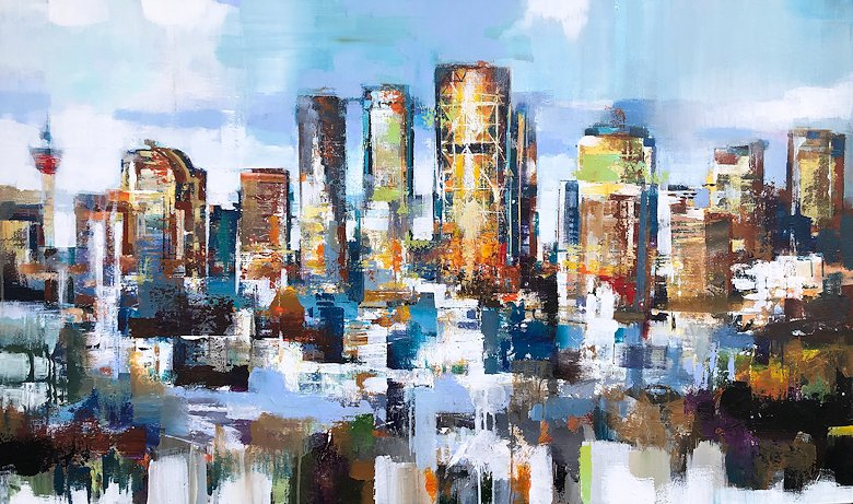 "Image of art work ""Skyline"""