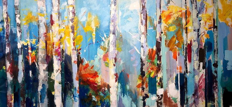 "Image of art work ""The Aspen"""