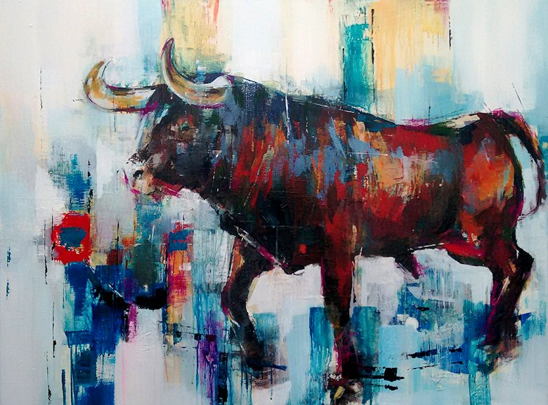 "Image of art work ""Toro Bravo I"""